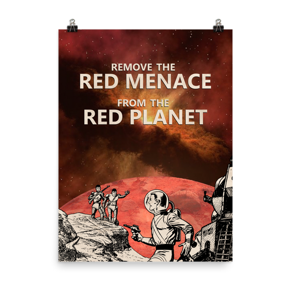 REMOVE THE RED MENACE – Poster