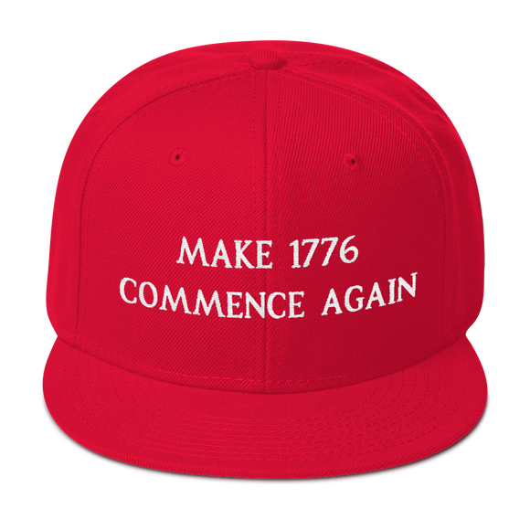 MAKE 1776 COMMENCE AGAIN