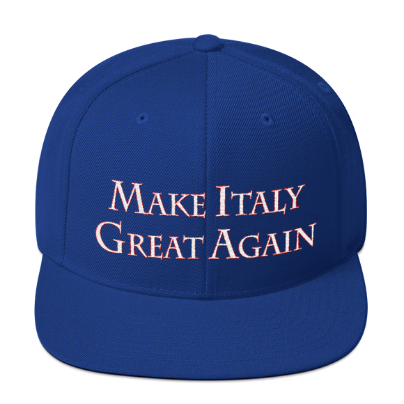 MAKE ITALY GREAT AGAIN