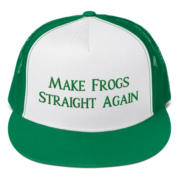 MAKE FROGS STRAIGHT AGAIN