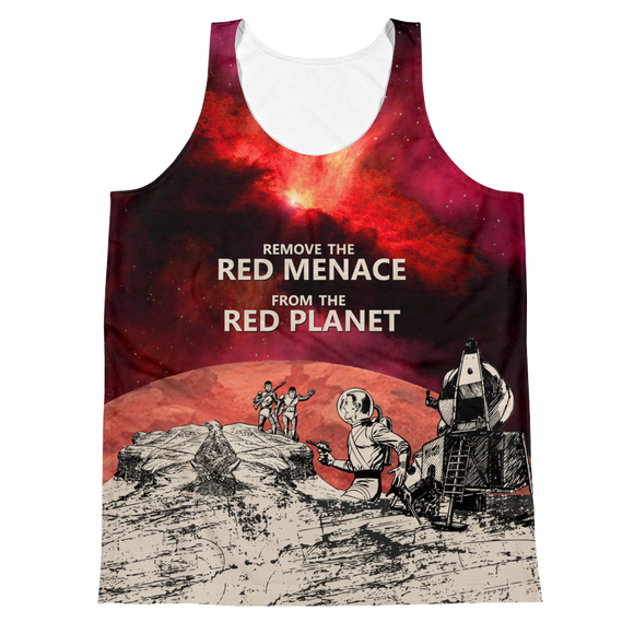 REMOVE THE RED MENACE – FRONT & BACK