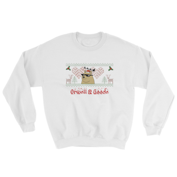 ORWELL & GOODE CHRISTMAS SWEATSHIRT