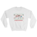 REDPILLED RABBIT CHRISTMAS SWEATSHIRT