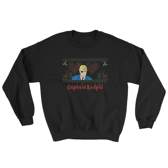 CAPTAIN REDPILL CHRISTMAS SWEATSHIRT