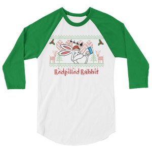 REDPILLED RABBIT CHRISTMAS SHIRT