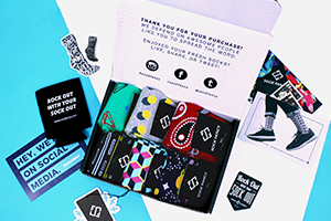 6-pack sock subscription