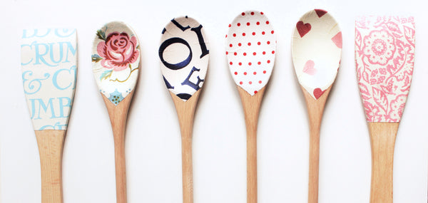 Colourful wooden spoon - Cottage kitchen - Country & Shabby details