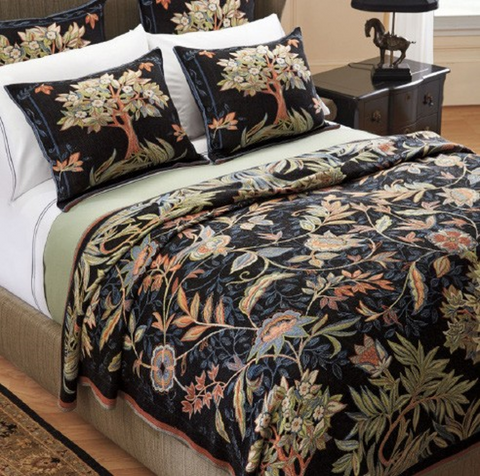 """7164-43"" Tapestry Bedding"