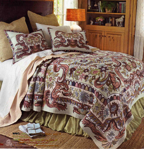 """7154-50"" Tapestry Bedding"