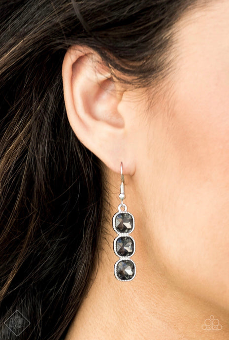 Toast To Timeless Silver Earring
