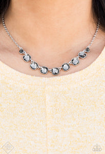 Deluxe Luxe Silver Necklace
