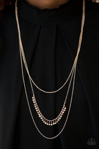 Twinkly Troves - Rose Gold Necklace