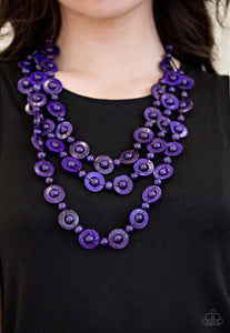 Bermuda Belle - Purple Necklace