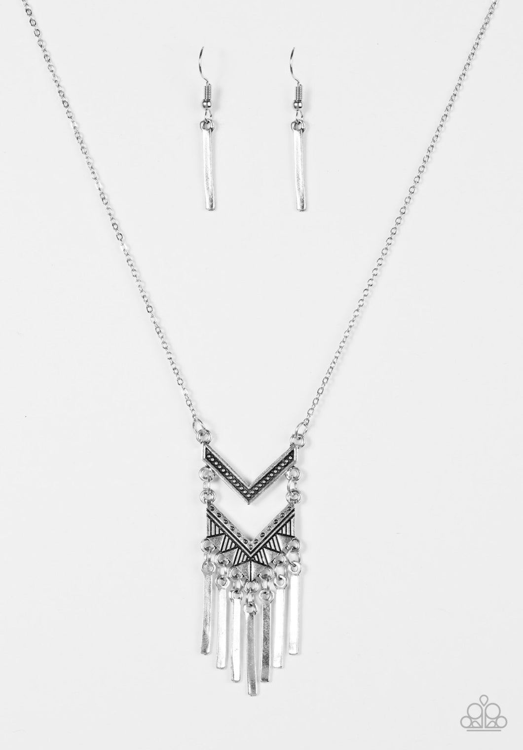 """Wayward Winds - Silver"" Necklace"