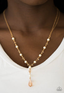 Diva Deluxe - Gold Necklace