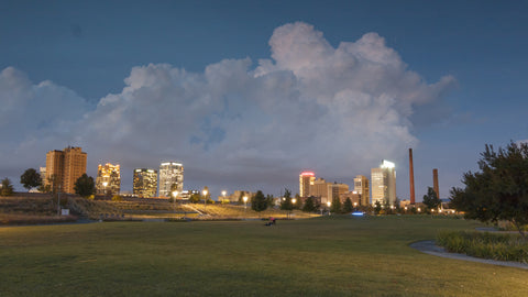 Birmingham Timelapse - Downtown From Railroad Park