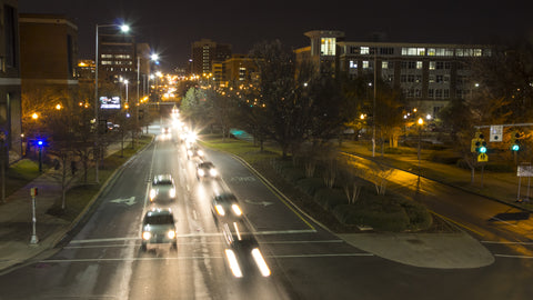 Birmingham Timelapse - UAB Bridge Headlights