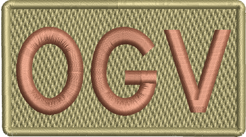 """OGV""- Left Shoulder Patch"