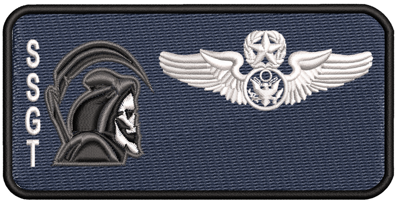 42d Enlisted Friday Name Tag - Reaper Patches