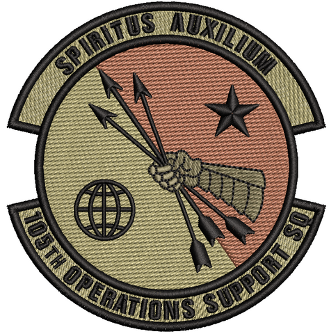 105th Operations Support Squadron Patch - OCP - Reaper Patches