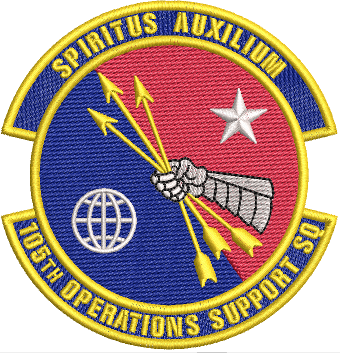 105th Operations Support Squadron Patch - Reaper Patches