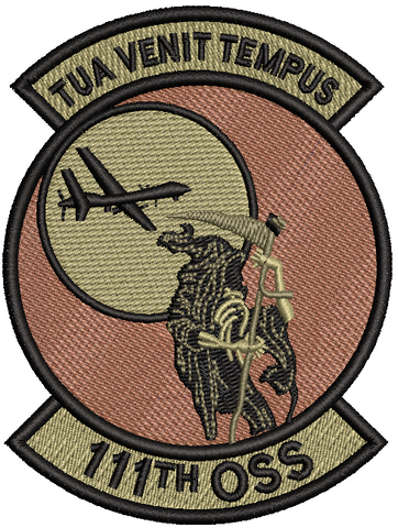 111th OSS (TUA VENIT TEMPUS) Patch - OCP (Unofficial) - Reaper Patches