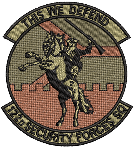 "122d Security Forces Squadron ""This We Defend"" - OCP patch"