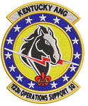 123d Operations Support Squadron- Colored