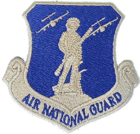 Air National Guard Blue and Silver C-17