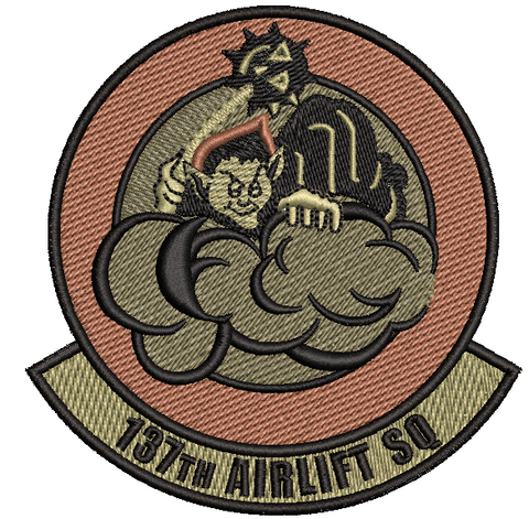 137th Airlift Squadron OCP - Patch (unofficial) - Reaper Patches