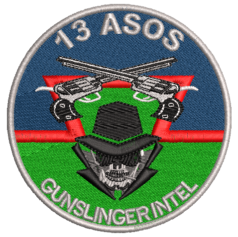 "13 ASOS Intel ""Gunslingers"""