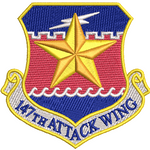 147th Attack Wing Patch - Reaper Patches
