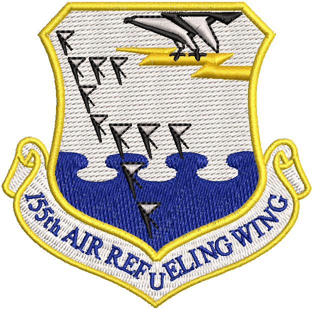 155th Air Refueling Wing - Reaper Patches