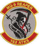 162nd Attack Squadron (ATKS) Patch -  TIMOR MORTIS