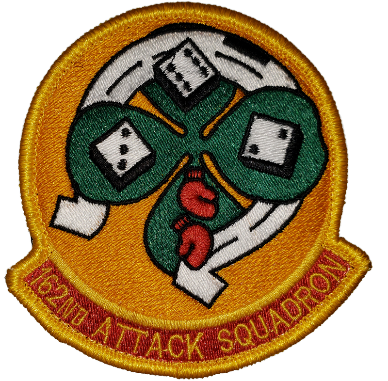 162nd Attack Squadron (ATKS) Patch