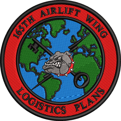 165th Airlift Wing - Logistics Plans -Patch