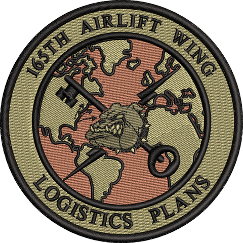 165th Airlift Wing - Logistics Plans - Patch OCP