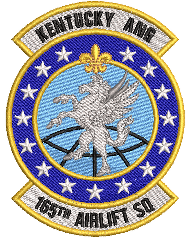 165 Airlift Squadron - Patch