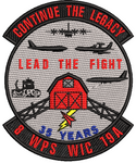 "8 WPS WIC 19A - ""Continue the Legacy"" - Reaper Patches"