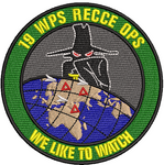 19 WPS RECCE OPS- We Like to Watch - Reaper Patches