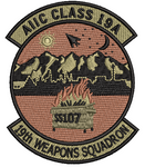 AIIC Class 19A- 19th Weapons Squadron -OCP - Reaper Patches