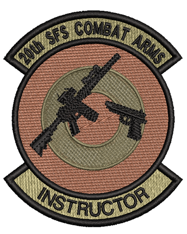 20th SFS Combat Arms Instructor Patch OCP - Reaper Patches
