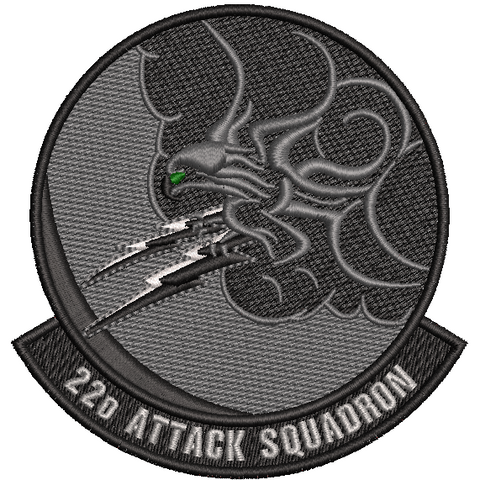 22d Attack Squadron- Black out