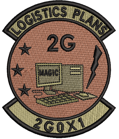 Logistics Plans 2G- OCP Patch - Reaper Patches
