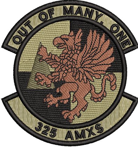 325th Aircraft Maintenance Squadron - OCP (unofficial) - Reaper Patches