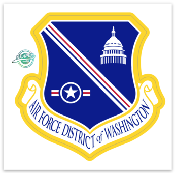 Air Force District of Washington - Sticker (ZAP)