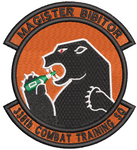 338th Combat Training Squadron - Magister Bibitor - Reaper Patches