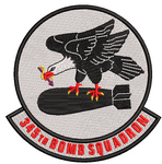 345th Bomb Squadron - Patch - Reaper Patches