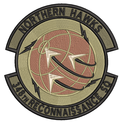 348th Reconnaissance Squadron OCP (Unoffical) - Reaper Patches