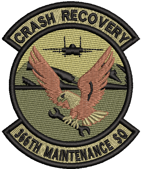 "366th MXS ""CRASH RECOVERY"" - OCP"